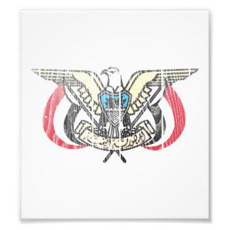 Yemen Coat Of Arms Photo Print