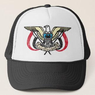 Yemen Coat Of Arms Trucker Hat