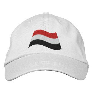 Yemen Flag Embroidered Hats
