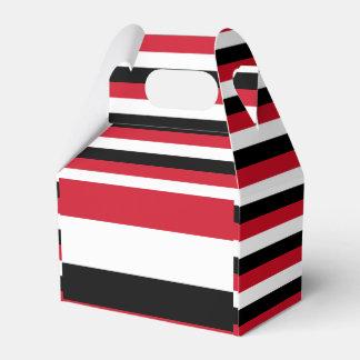 Yemen Flag Favour Box