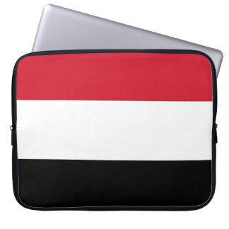 Yemen Flag Laptop Sleeve