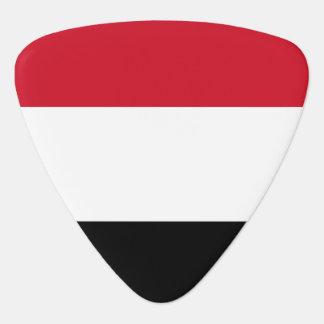 Yemen Flag Plectrum