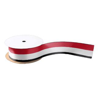 Yemen Flag Satin Ribbon