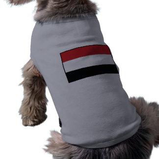 Yemen Plain Flag Dog Tshirt
