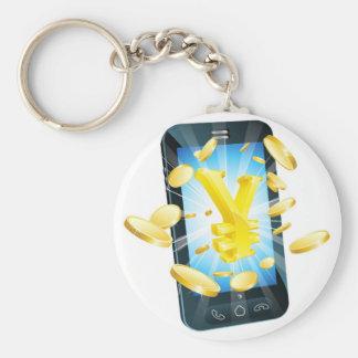 Yen money phone concept keychains