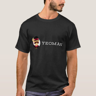 Yeoman T-Shirt (Dark, Double-sided)