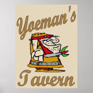 Yeoman's Tavern, Dart Player Poster