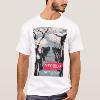 Yeouido South Korea travel poster T-Shirt