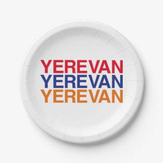 YEREVAN 7 INCH PAPER PLATE