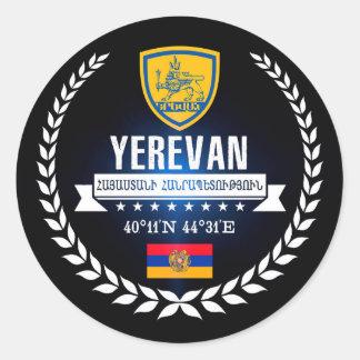 Yerevan Classic Round Sticker