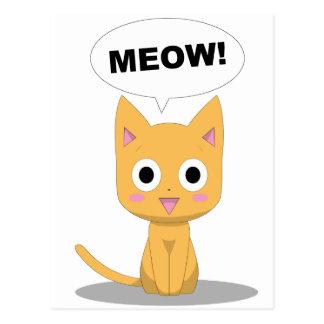 Yero Meow Postcard