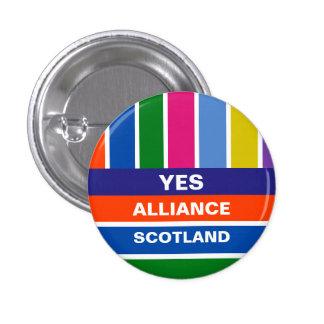 Yes Alliance Scotland Independence Stripe Badge
