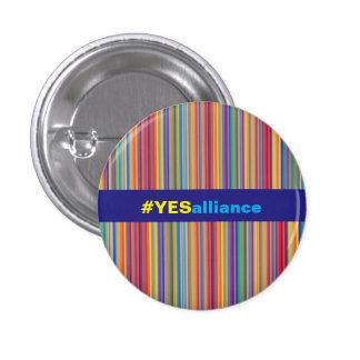 Yes Alliance Scottish Independence Stripe Badge
