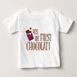 yes, but roofridge chocolat baby T-Shirt