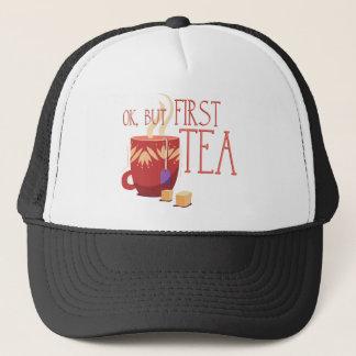Yes, but roofridge tea trucker hat