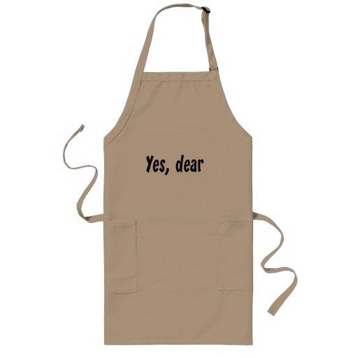 Yes, Dear Apron