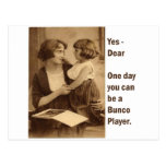 yes, dear one day you can be a bunco player