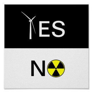 YES FOR CLEAN ENERGY POSTER