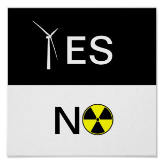 YES FOR CLEAN ENERGY PRINT