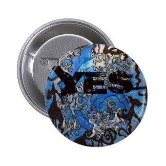 Yes for Scotland 6 Cm Round Badge