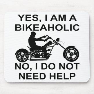 Yes I Am A Bikeaholic No I Do Not Need Help Mouse Pad