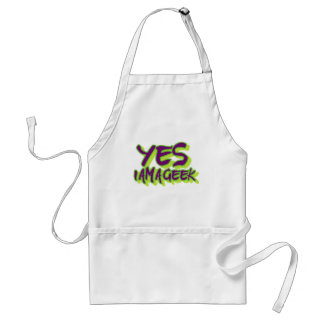 Yes I am a Geek Aprons