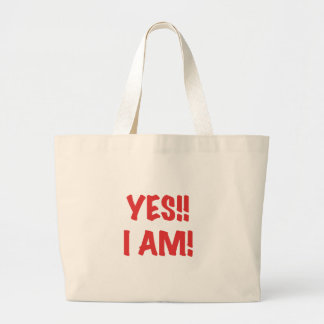 YES I am Pregnant Bags