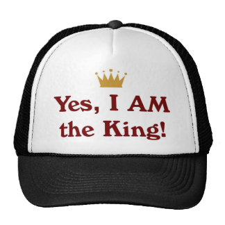 Yes I AM The King Hat
