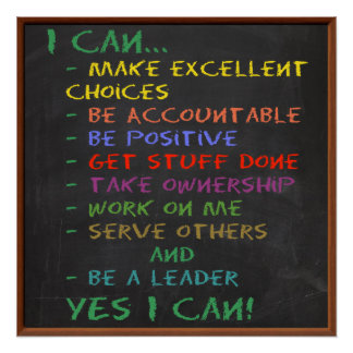 YES I CAN! Motivational and Inspirational