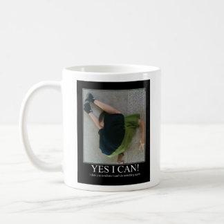 Yes I Can! Basic White Mug