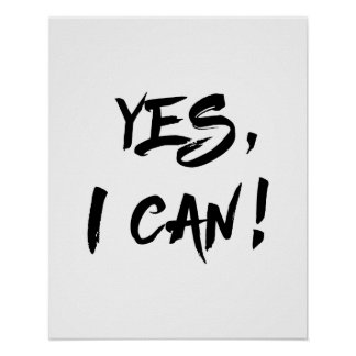 Yes I Can poster