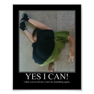 Yes I Can! Posters