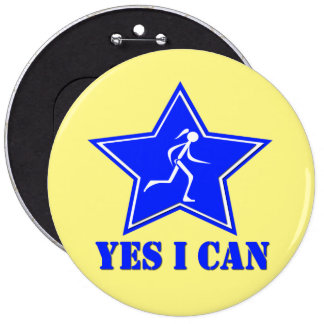 Yes I Can Round Button