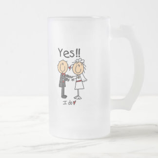 YES I Do Bride and Groom T-shirts and Gifts Mugs