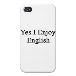 Yes I Enjoy English iPhone 4/4S Cover