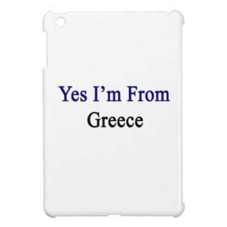 Yes I'm From Greece iPad Mini Covers