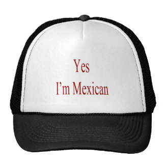 Yes I'm Mexican Mesh Hat