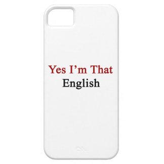Yes I'm That English iPhone 5 Case