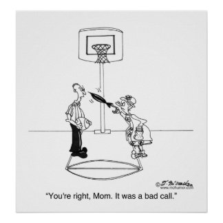 Yes, Mom, It Was a Bad Call Poster