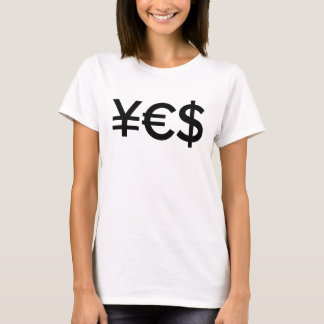 Yes Money - Motivational Entrepreneur T-Shirt