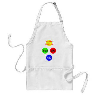 Yes No Buttons The MUSEUM Zazzle Gifts Standard Apron