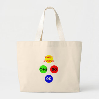 Yes No Buttons The MUSEUM Zazzle Gifts Tote Bags