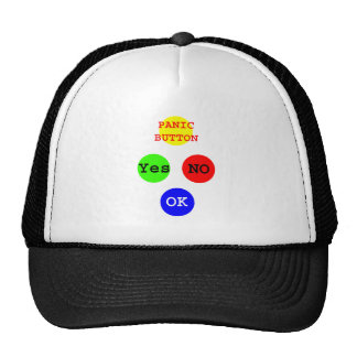 Yes No Buttons The MUSEUM Zazzle Gifts Trucker Hat