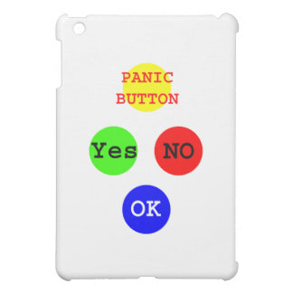 Yes No Buttons The MUSEUM Zazzle Gifts iPad Mini Covers
