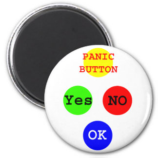 Yes No Buttons The MUSEUM Zazzle Gifts Fridge Magnet