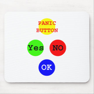 Yes No Buttons The MUSEUM Zazzle Gifts Mouse Pad