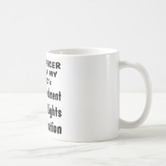 Yes Officer I Know My A B C's Coffee Mug