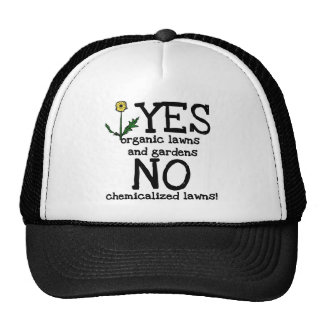 YES Organic NO Chemicals T-shirts and Gifts Cap