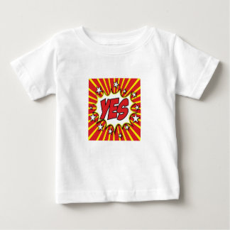 YES pop art jazzy t-shirt, stunning! Baby T-Shirt