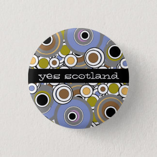 Yes Scotland Scottish Independence Button Badge